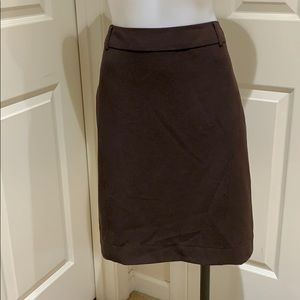 Dress Barn brown skirt